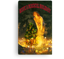 MAGICAL CHRISTMAS Canvas Print