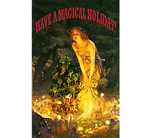 MAGICAL CHRISTMAS Photographic Print