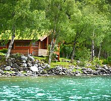 Living at the Water's Edge in Skjolden, Norway by SeeOneSoul
