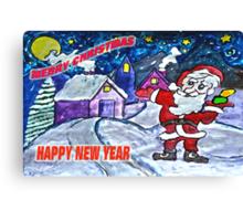 Happy Holidays Already Canvas Print