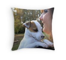 Yeah, I Have A New Home!! Throw Pillow