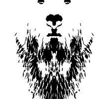 Rorschach Bear by ColonelNicky