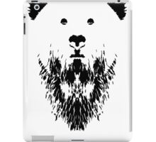 Rorschach Bear iPad Case/Skin