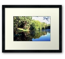 Middle Lake - Ampleforth Framed Print