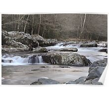 Greenbrier Mountain Stream Poster