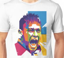 World Cup Edition - Neymar in WPAP Unisex T-Shirt