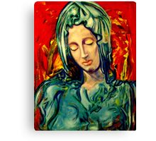 Mary 1 Canvas Print