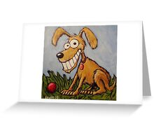 Poopy Hound Greeting Card