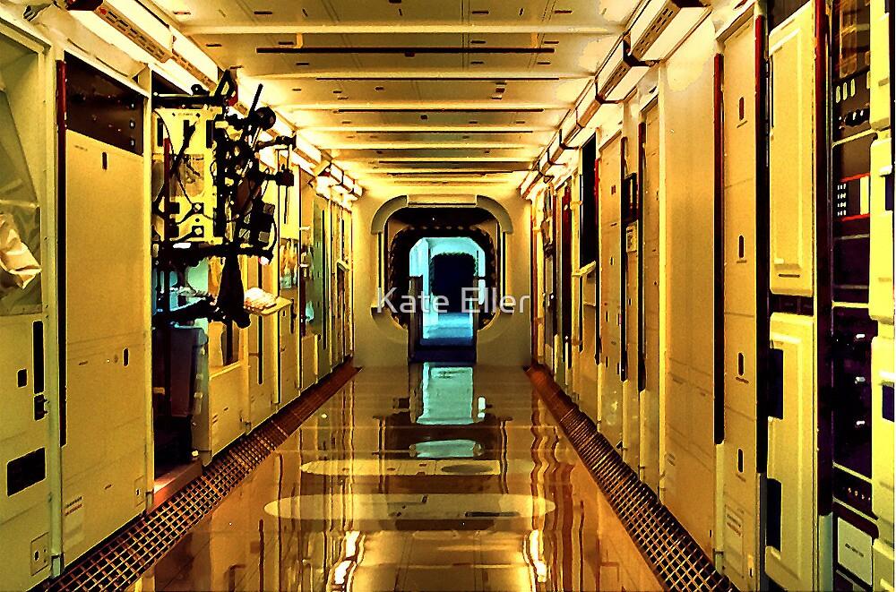 View inside Shuttle Columbia by Kate Eller