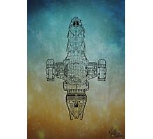 I'm a leaf on the wind - Firefly / serenity variant Photographic Print