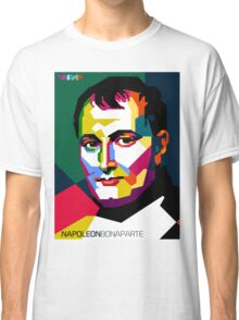 "WPAP - ""Napoleon Bonaparte"" Classic T-Shirt"