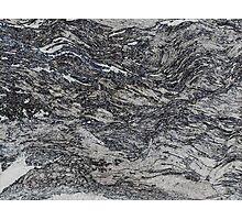 Silver Birch Bark Rubbing Photographic Print