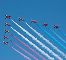 Red Arrows by Steve Purnell