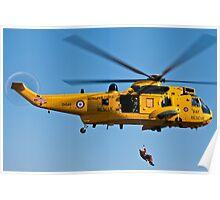 RAF Sea King Poster
