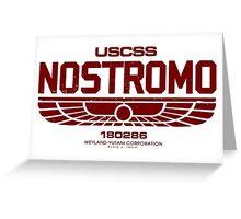 Sumerian Red Simbol Weyland Industries Nostromo Greeting Card