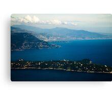 Cote d'Azur Canvas Print