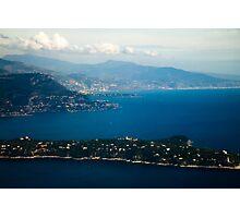 Cote d'Azur Photographic Print