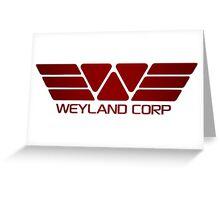 Space Deep Weyland Industries Greeting Card