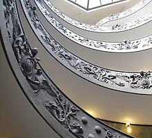 Vatican Steps by Llewellyn Cass