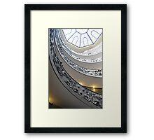 Vatican Steps Framed Print