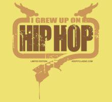 I Grew Up On Hip-Hop: Logo #1 Kids Tee