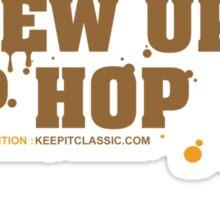 I Grew Up On Hip-Hop: Original Logo Sticker