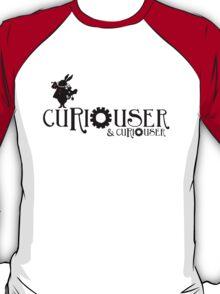 Curiouser & Curiouser Alice in Wonderland Shirt T-Shirt