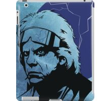 'The Doc' from Back To The Future iPad Case/Skin