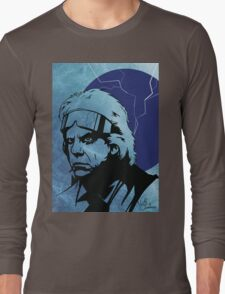 'The Doc' from Back To The Future Long Sleeve T-Shirt