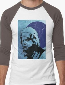 'The Doc' from Back To The Future Men's Baseball ¾ T-Shirt