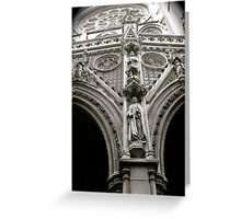 Church sculpture Greeting Card