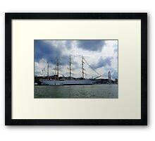 In The Gothenburg Harbour Framed Print