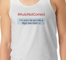 #AutoNotCorrect: Flight Tank Top