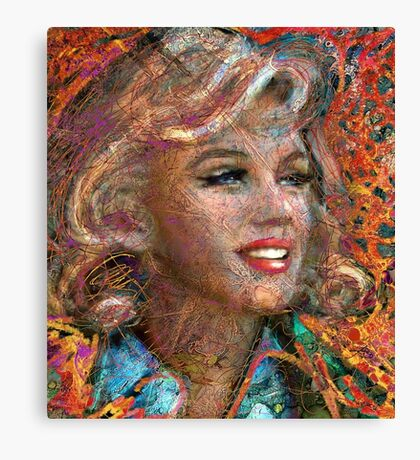 MM Ice Red Canvas Print