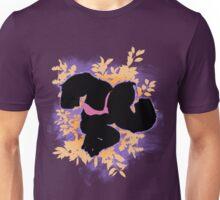 Super Smash Bros. Purple Donkey Kong Silhouette Unisex T-Shirt