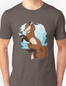Red Fox Tee - Blue Unisex T-Shirt