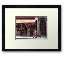 Wines and Spirits Greenwich Village Framed Print
