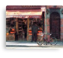 Wines and Spirits Greenwich Village Canvas Print