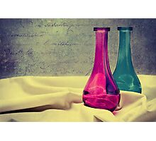 Colored vases Photographic Print