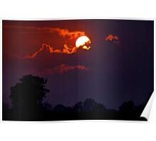 A Norfolk Sunset Poster