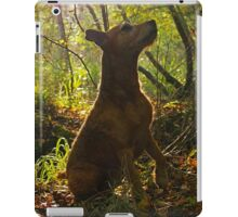 Observing from the undergrowth  iPad Case/Skin