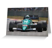 Adelaide Motorsport Festival 2015 - G.Berger Benneton F1 Car Greeting Card