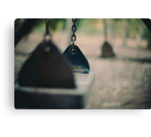 swing in motion Canvas Print