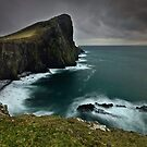 Neist Point Lighthouse by Brian Kerr