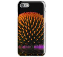 Cone Flower Over Water iphone Case iPhone Case/Skin