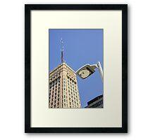Foshay Tower Framed Print