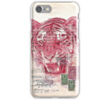 China red and travelling souls iPhone Case/Skin