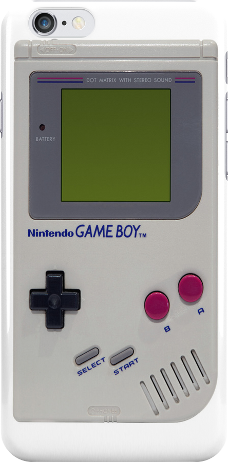 Nintendo Gameboy iPhone 4/4S Case by Vagelis Georgariou