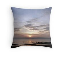 Late For The Sky Throw Pillow