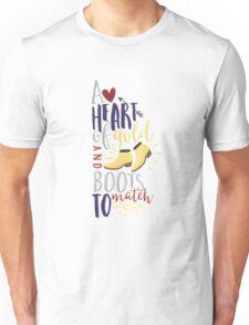 Heart of gold #2 Unisex T-Shirt